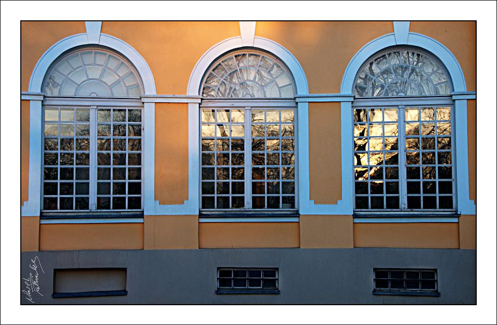Okna pałacu