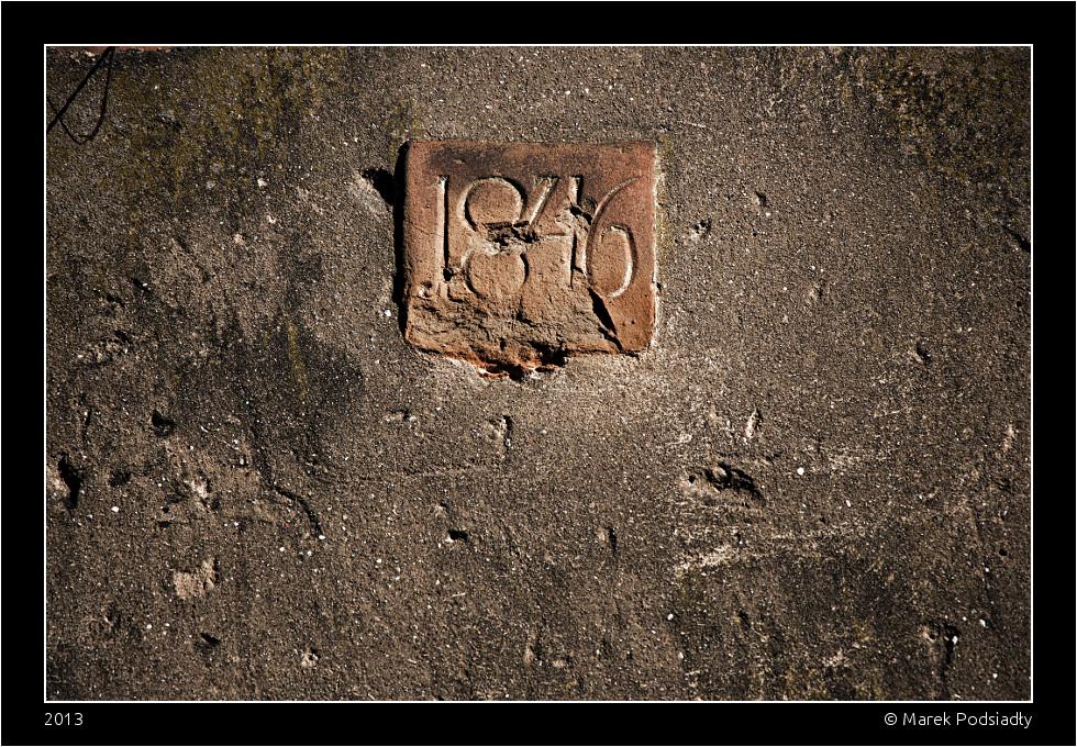 Detal – dzwonnica rok budowy 1846