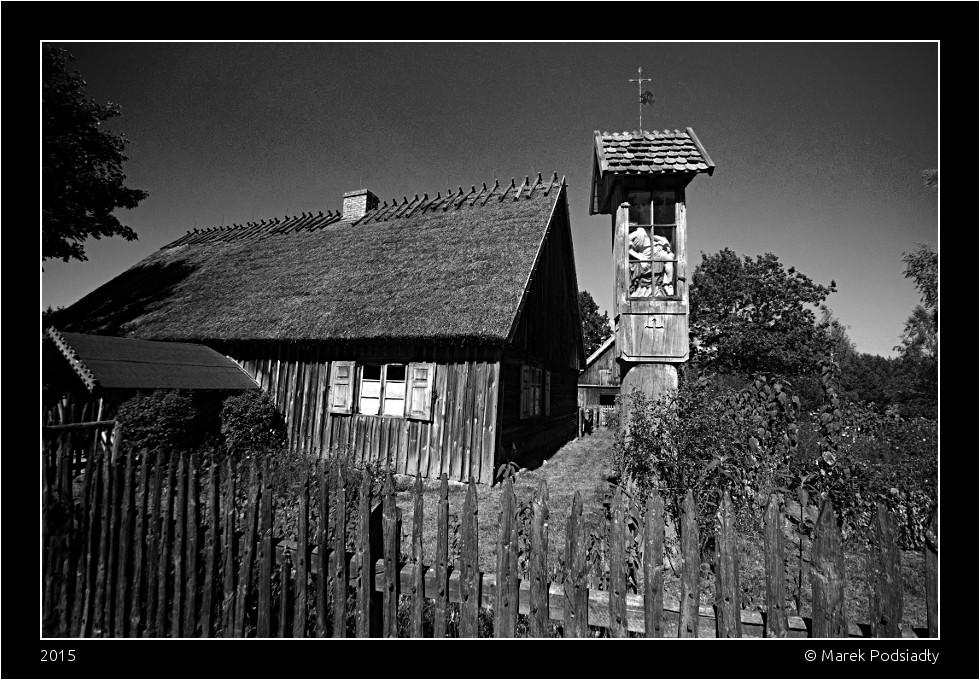 Kapliczka drewniana