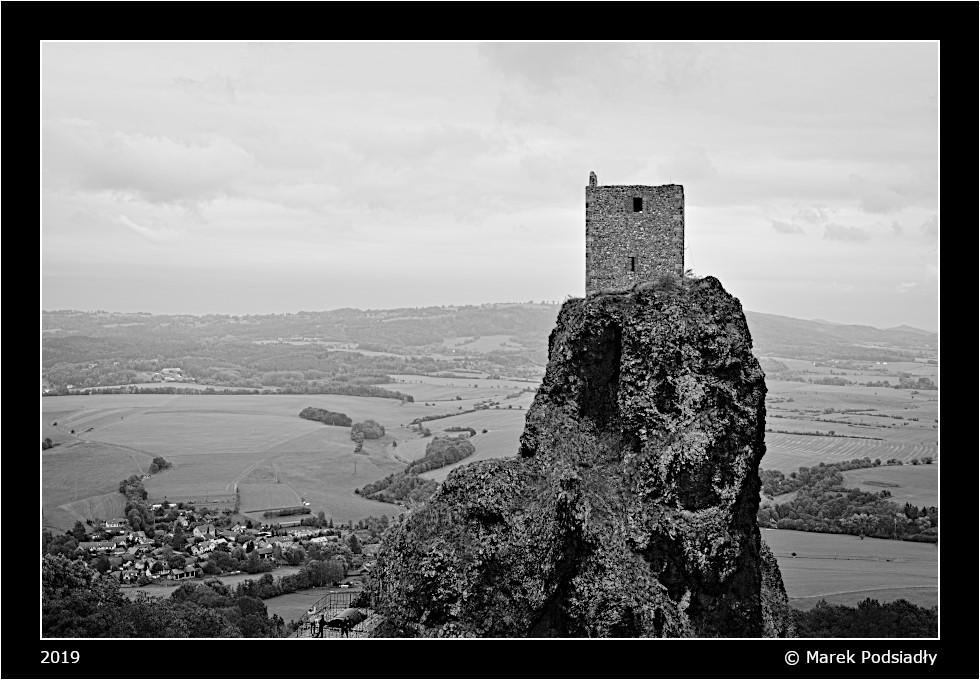 Zamek Trosky - wieża Panna
