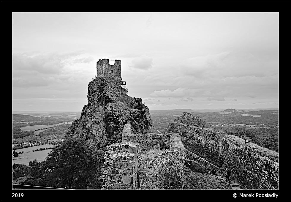 Zamek Trosky - wieża Baba