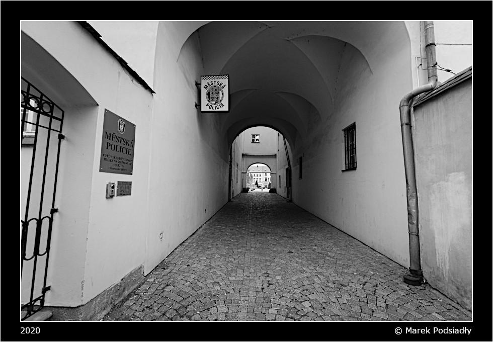 Moravská Třebová - uliczka